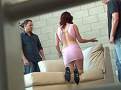 Shayne Ryder in high heels takes..
