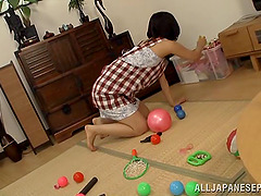 Amateur asian milf chick gets fucked..
