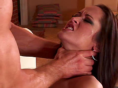 Carmella Bing gets chocked and spanked..