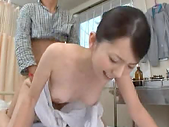Flirty Japanese Nurse Fucks Her Patient