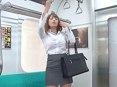 Jav business lady fucked by stranger..