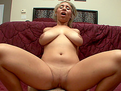 Salacious cowgirl with big tits..