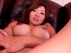 Kaori lets a man fuck her Japanese..