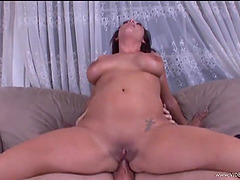 Brilliant cougar with hot ass getting..