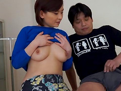Jerking off to her amazing Japanese..