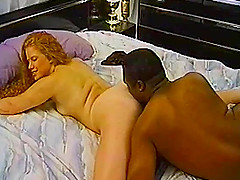 Interracial couple banging hardcore..