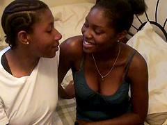 Ebony girlfriends explore their..