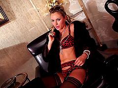 Naughty hot ass Anna Beletzki in pussy..