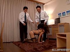 Arousing bdsm fetish groupsex shoot..