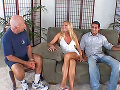 Blonde wife gets her anal thrilled..