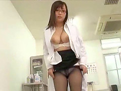 Nerdy Japanese sweetheart shows she..