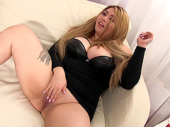 BBW Arianny Koda gets the big cock fucking she needs
