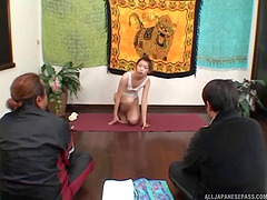 Skinny Japanese wife gets her furry..