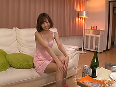 Lustful Japanese couple having amazing..