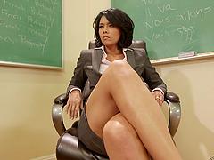 Lesbian teacher and Samantha Rone have..