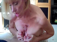 Amateur mature woman Mellanie Sky and..