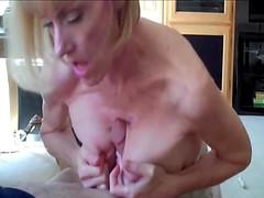 Amateur mature woman Mellanie Sky and..