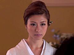 Sultry Japanese AV girl Akari Hoshino..