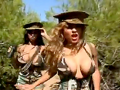 Busty military girls are raped..