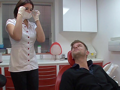 Sexy Female Dentist Likes To Bang Her..