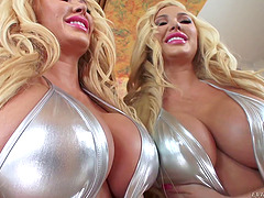 Bimbo beauty Summer Brielle pounded in..