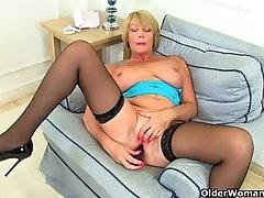 British milf Amy fulfills her honey..