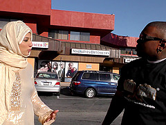 Religious muslim woman in a hijab..
