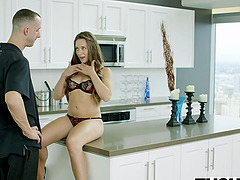 TUSHY GF Cassidy Klein Gives Her Man..