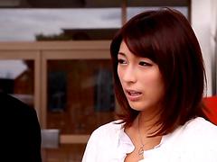 Kinky japanese milf Nami Hoshino gets..