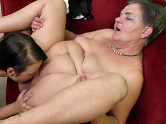 Granny has the best sex of her life..