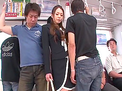 China Mimura fucked hard in public..