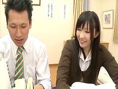 Slutty Japanese teacher & maid..