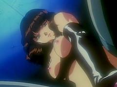 Bondage anime cutie threesome hot fucked