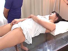 Cute Nozomi Aso enjoys having her..
