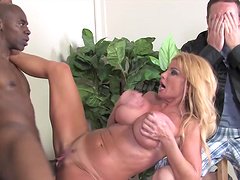 Taylor Wayne gets pounded by a hot..