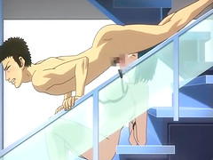 Japanese anime slammed fucked in the..