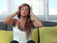 Casting couch video of a starlet..
