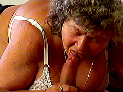 Sexy mature whore getting her titties..