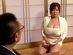 Irresistible Japanese chick with huge..