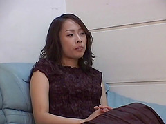 Attractive chick from Japan enjoys..
