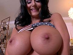 Massive breasts milf Ava Addams fucks..