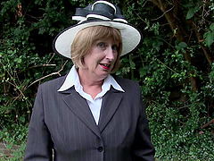 Hot mature granny in stockings awards..