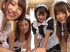 Four Japanese hotel maids want your..