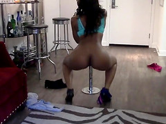 Property Sex Ebony Stripper Fucks..