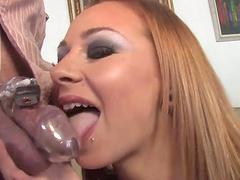 Cuckold sex scene with Scarlett Pain..