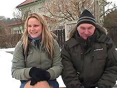 Paulina is a lovely blonde Czech teen