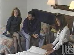 Busty porn hotties Leena and Sharon..