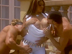 Extraordinary mmf bang scene with a..