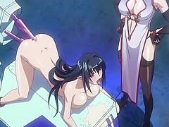 Bigboobs hentai caught and hardfucked..