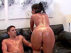 Monica Santhiago gets her Latina culo..